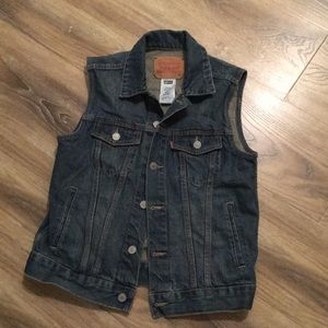 Levi's Medium Wash Denim Vest